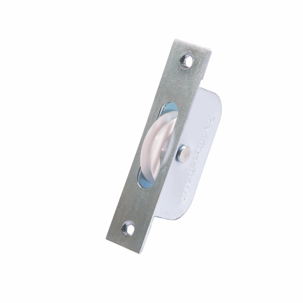 Rustproof Sash Pulley - square-end