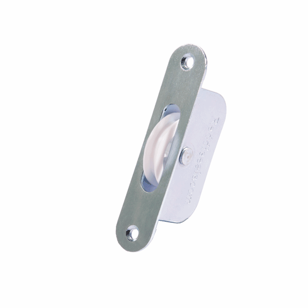 Rustproof Sash Pulley - radius-end