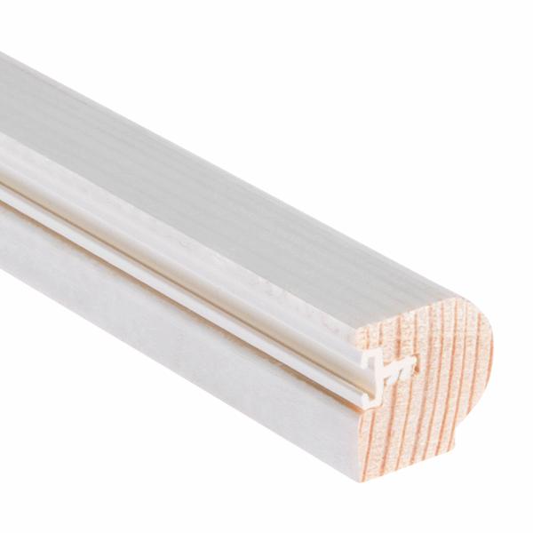 Timber Staff Bead 20 x 20mm - primed - 1-x-3m-length