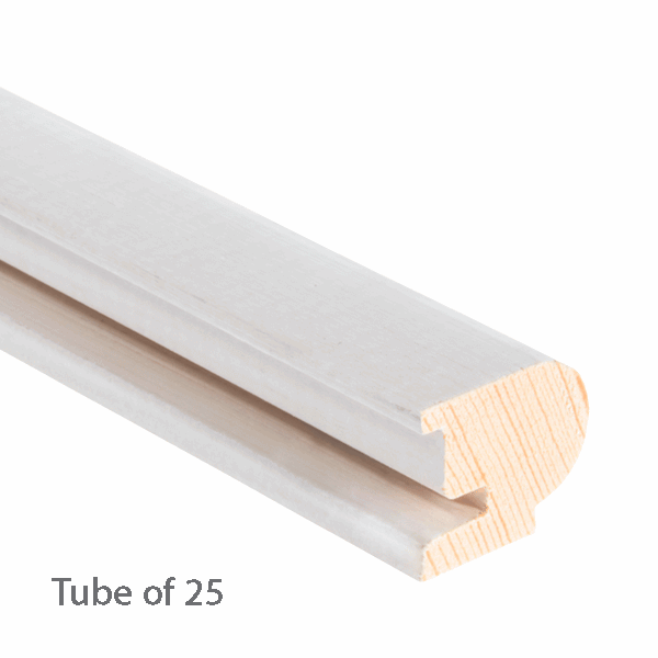 Timber Staff Bead 22 x 19mm - primed - 25-x-3m-length