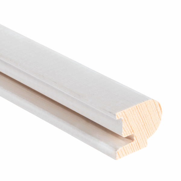 Timber Staff Bead 22 x 19mm - primed - 1-x-3m-length