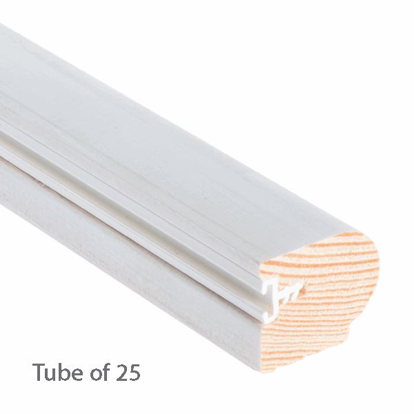 Timber Staff Bead 24 x 20mm - primed - 25-x-3m-length