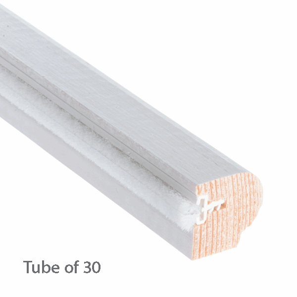 Timber Staff Bead 20 x 20mm - primed-with-reddipile - 30-x-3m-length