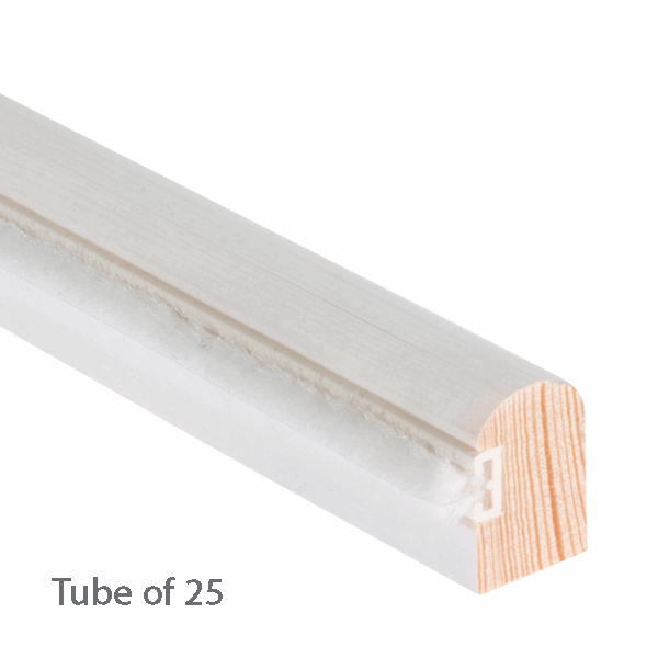 Timber Staff Bead 28 x 15mm - primed-with-reddipile - 25-x-3m-length