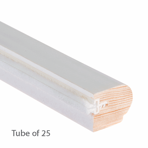 Timber Staff Bead 24 x 20mm - primed-with-reddipile - 25-x-3m-length