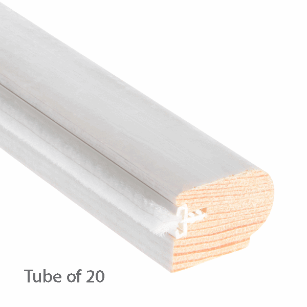 Timber Staff Bead 28 x 20mm - primed-with-reddipile - 20-x-3m-length