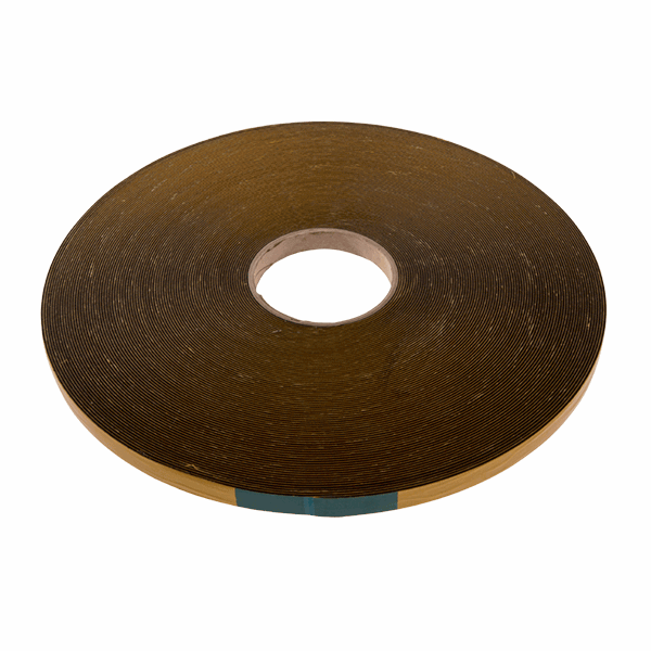 Security Glazing Tape - 15mm - 1mm-50m-roll - black