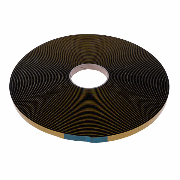 Security Glazing Tape - 15mm - 3mm-25m-roll - black