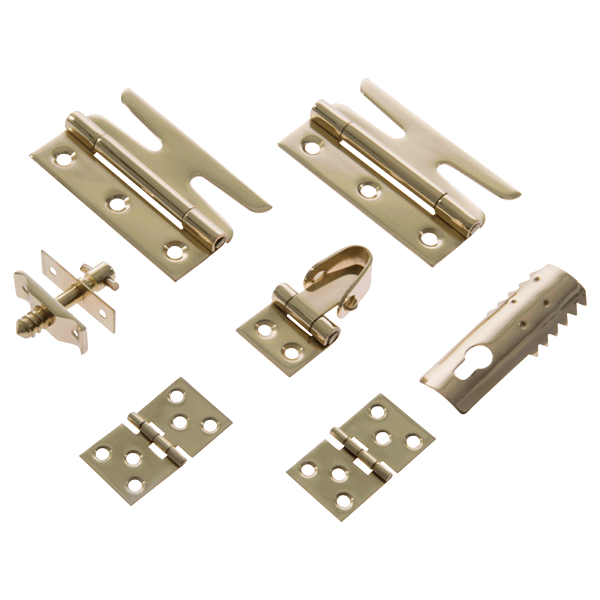 Simplex Fitting Set - polished-brass