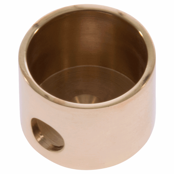 Simplex Cord Plug - polished-brass