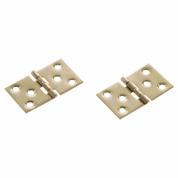 Simplex Baton Rod Hinges - polished-brass