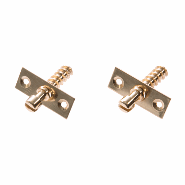 Simplex Hinge Screw - polished-brass