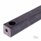 Steel Sash Weights - 40mm-sq - 7lbs-weight-259mm-length