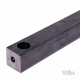 Steel Sash Weights - 40mm-sq - 10lbs-weight-368mm-length