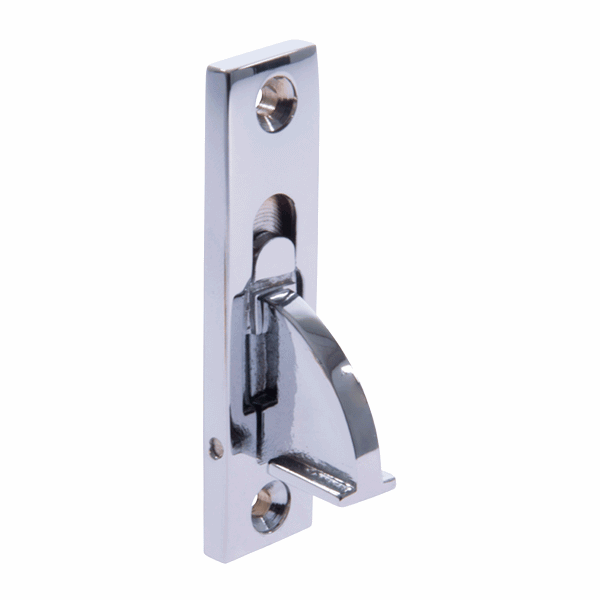 Weekes Stop - square-end - polished-chrome