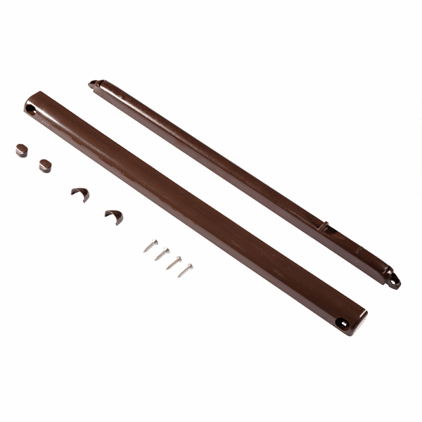 Slotted For Surface Mounting Standard - 2700mm-air-leakage - brown