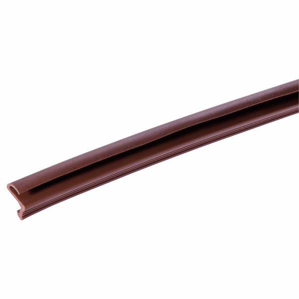 Easy Insertion Weatherseal - R Series - 12mm - brown