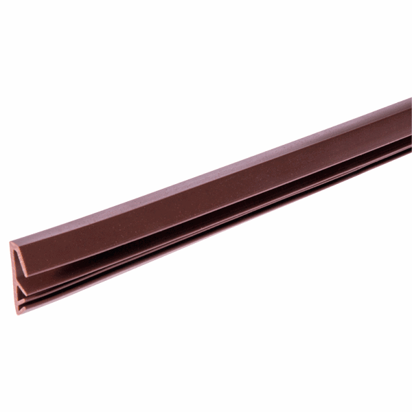 Easy Insertion Weatherseal - W Series - 12mm - brown
