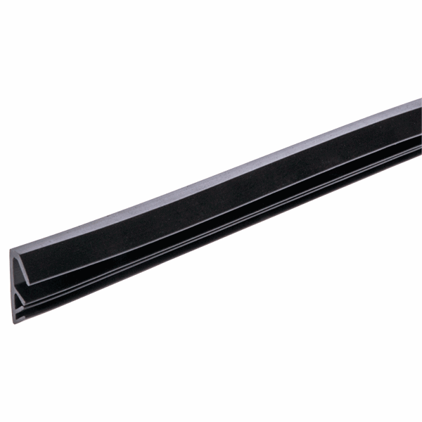 Easy Insertion Weatherseal - W Series - 12mm - black