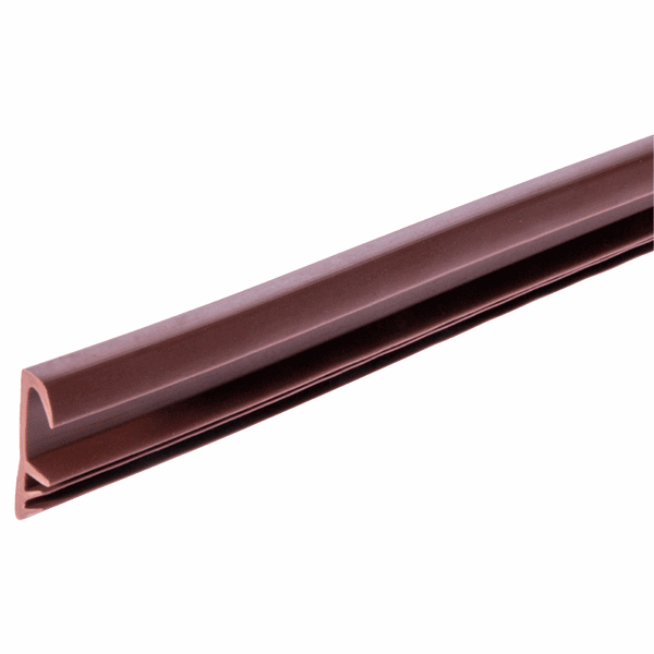 Easy Insertion Weatherseal - W Series - 15mm - brown