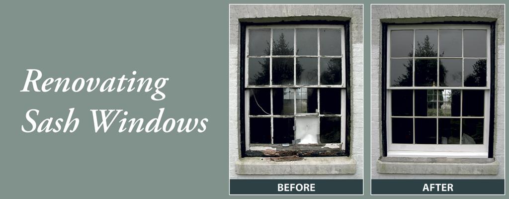 Renovating Sash Windows