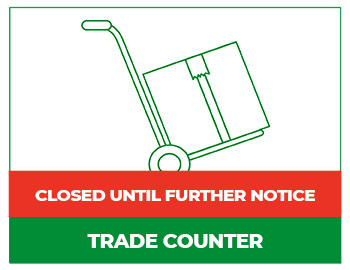Trade Counter Closed