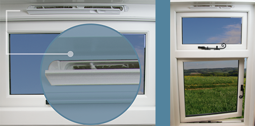 Easy To Fit Trickle Vents For Sash And Casement Windows